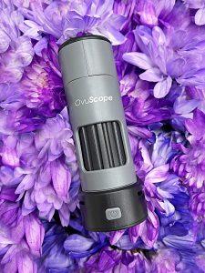 Ovuscope flat on flowers